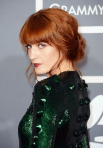 Florence Welch's red hair is always spot on.