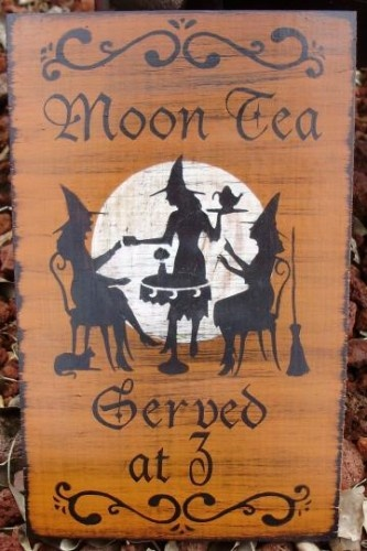 Moon Tea served at 3