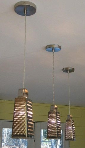 cheese grater light fixtures