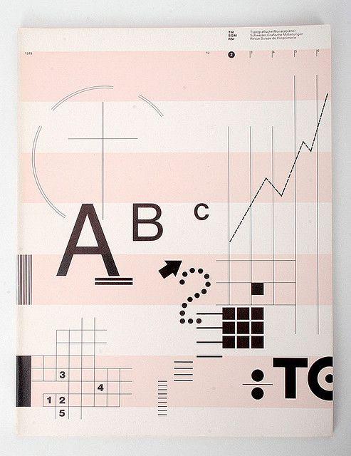 Willi Kunz, Cover of Typografische Monatsblätter, 1979