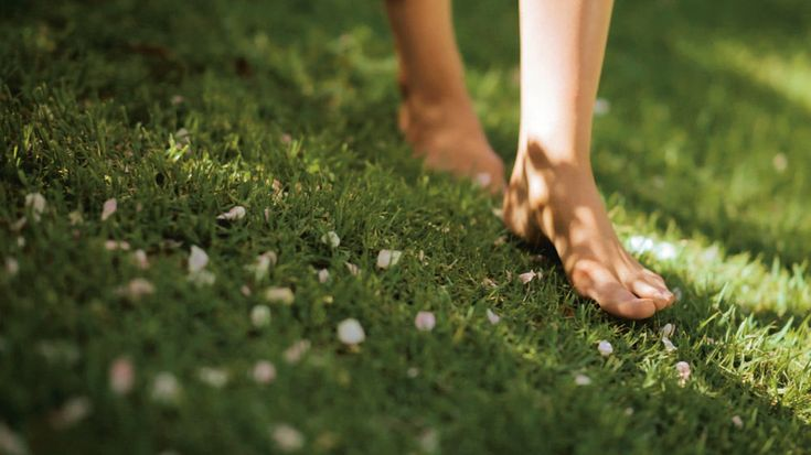 Image result for bare feet in grass