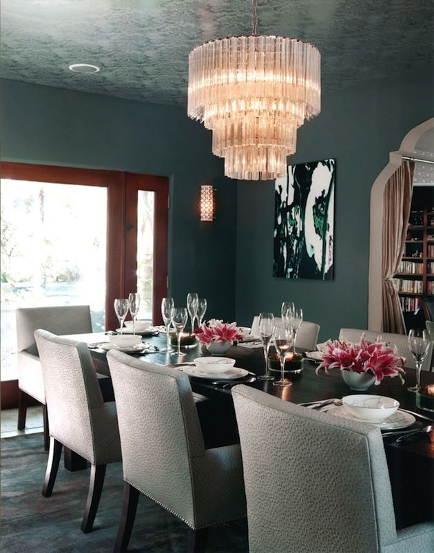 Kari Whitman Jessica Alba Dining Room on the Interior Collective