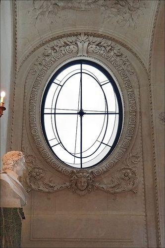 Vitrail de François Morellet (Musée du Louvre)