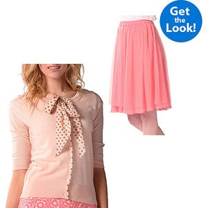 Bella Bird Women's Tie Front Cardigan and Skirt Outfit Bundle. OMG ARE YOU CEREAL! Walmart- BUNDLE $39 for both. Geniusssss