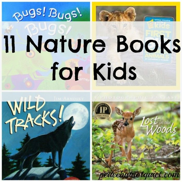 11 Children's Books About Nature