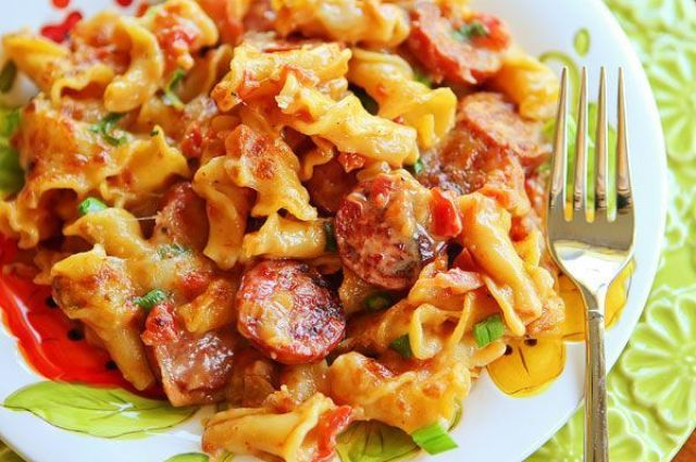 Spicy Sausage Pasta - this recipe is one of my favorites of all time. Seriously