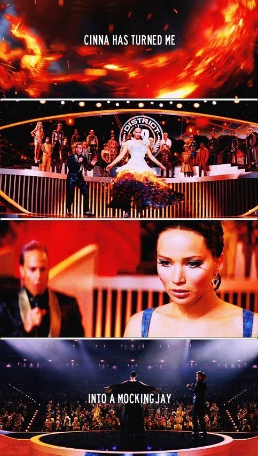 Catching Fire. Cinna's sneaky little three-fingered salute killed me.