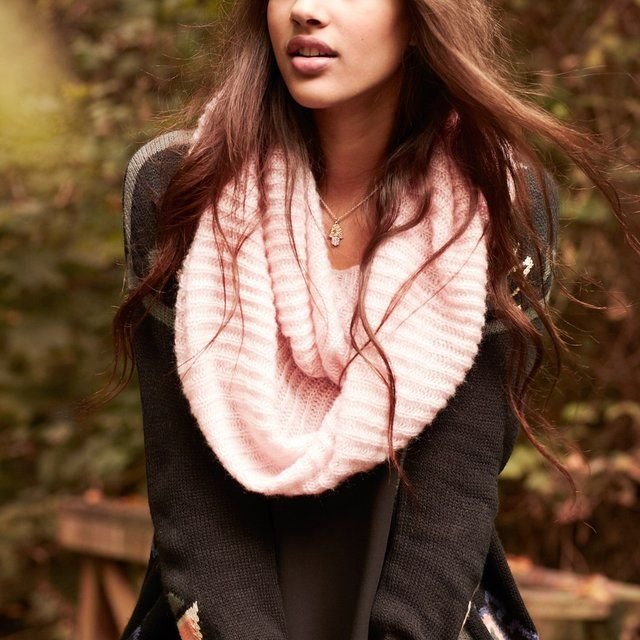Ribbed Infinity Scarf by BP.