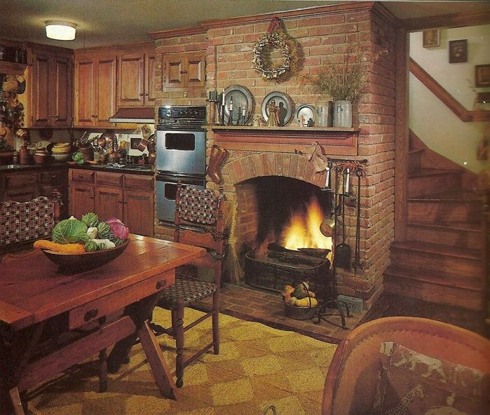 Country Kitchen Fireplaces
