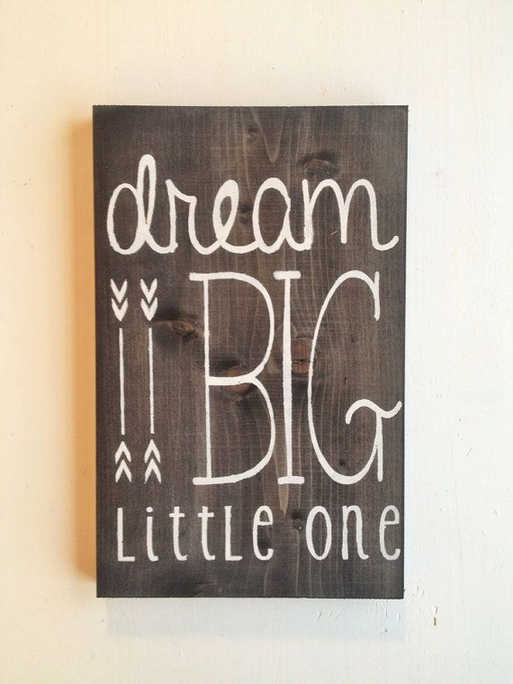 dream big little one #diy #sister #gifts #sorority #crafts