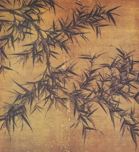 WEN TONG, Bamboo, ink on silk scroll, Northern Song, collection of Taipei Palace Museum © Taipei Palace Museum
