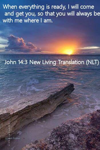 John 14.3 New Living Translation (NLT)