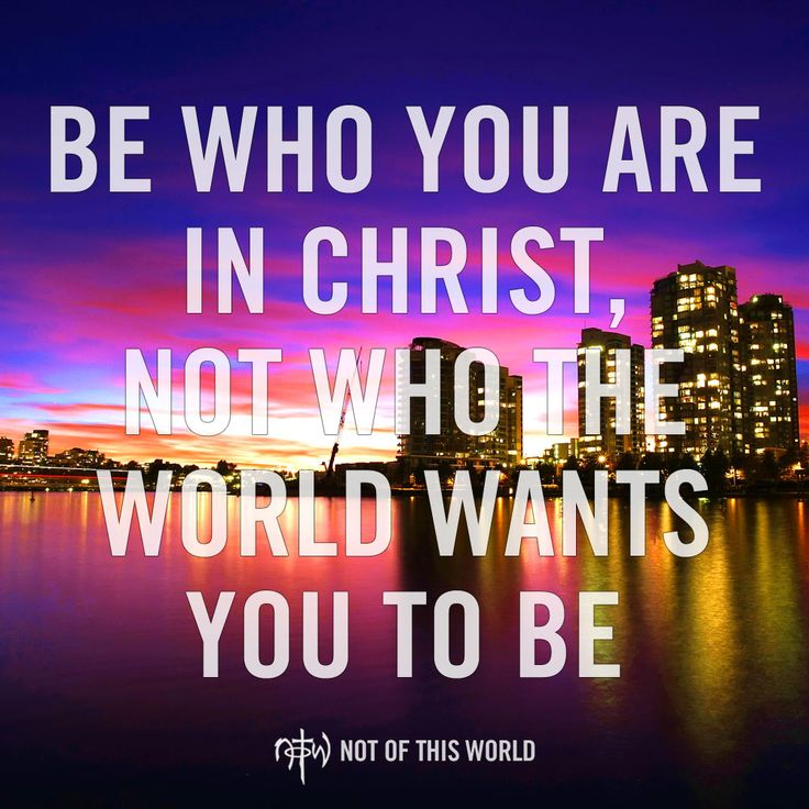 We live in an ABC, Anything But Christ, world, but we know it's All 'Bout Christ. (Colossians 2:8)