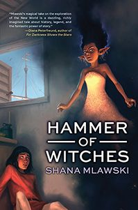 Hammer of Witches, by Shana Mlawski. Historical fantasy set during the first journey of Columbus to the Americas.