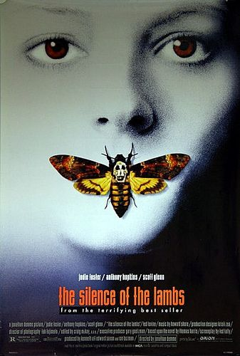 Silence of the Lambs 1991 Original Vintage US One Sheet Movie Poster (Clarice Starling) | Flickr - Photo Sharing!