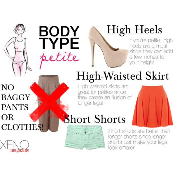 """Dressing For Your Body Type: Petite"" by delightoftheyoung on Polyvore"