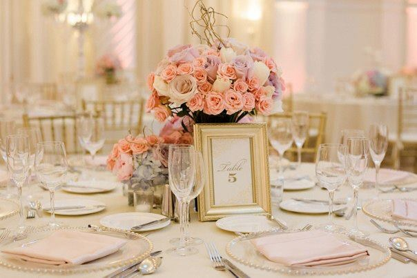 Table setting #wedding #peonies