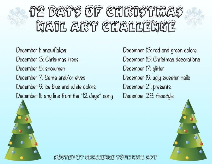 12 Days of Christmas Nail Art Challenge | Be Happy And Buy Polish