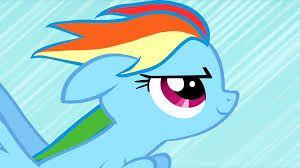 Rainbow Dash Rain Boom My Little Pony Pinterest