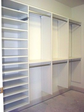 Walk in Closets - traditional - closet - miami - Naples Closets, LLC