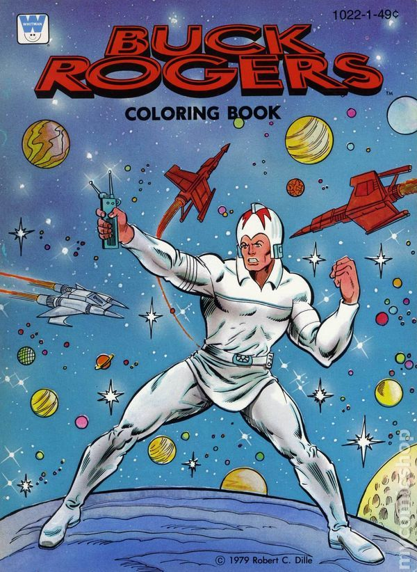 Whitman Coloring Books | The SuperHero Satellite