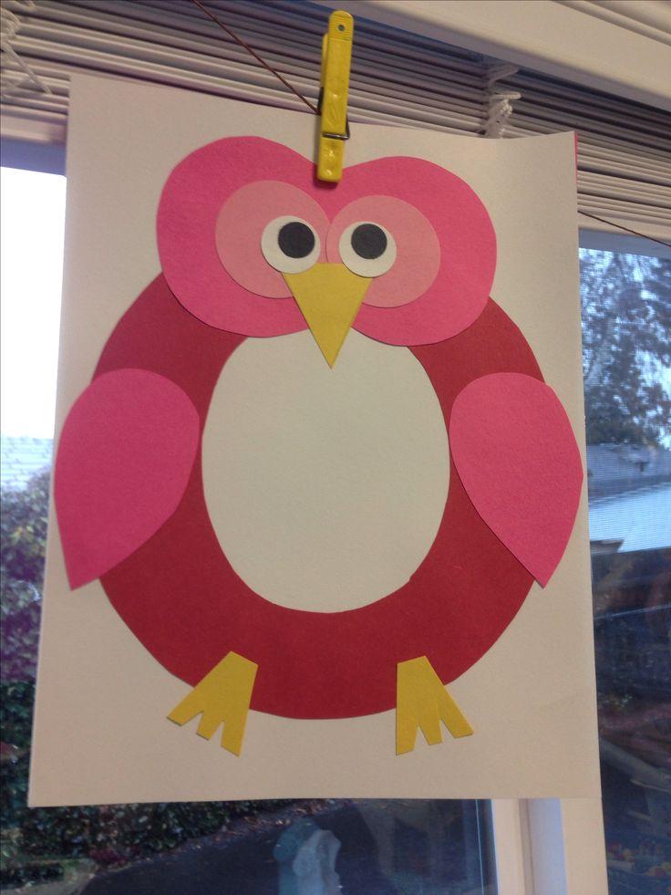 letter o owl craft letter o owl craft via sarah hall