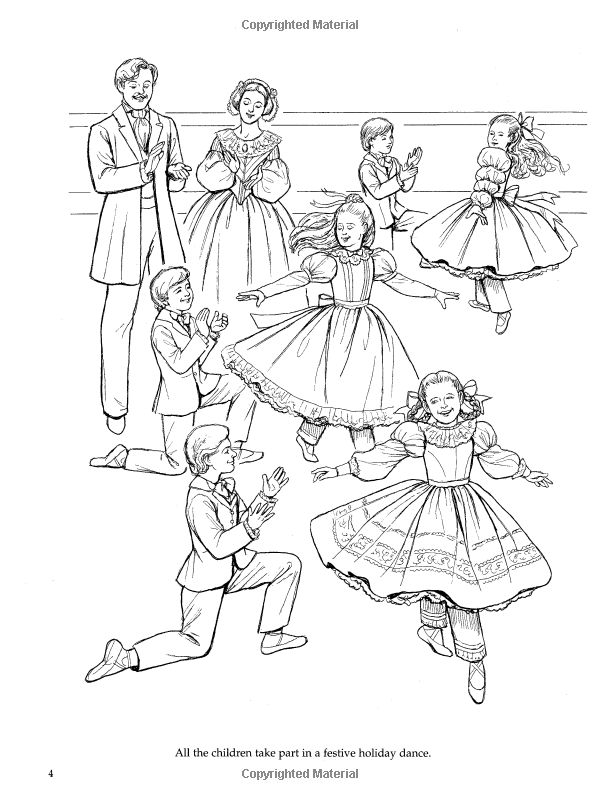 ballet nutcracker coloring pages cooloring com