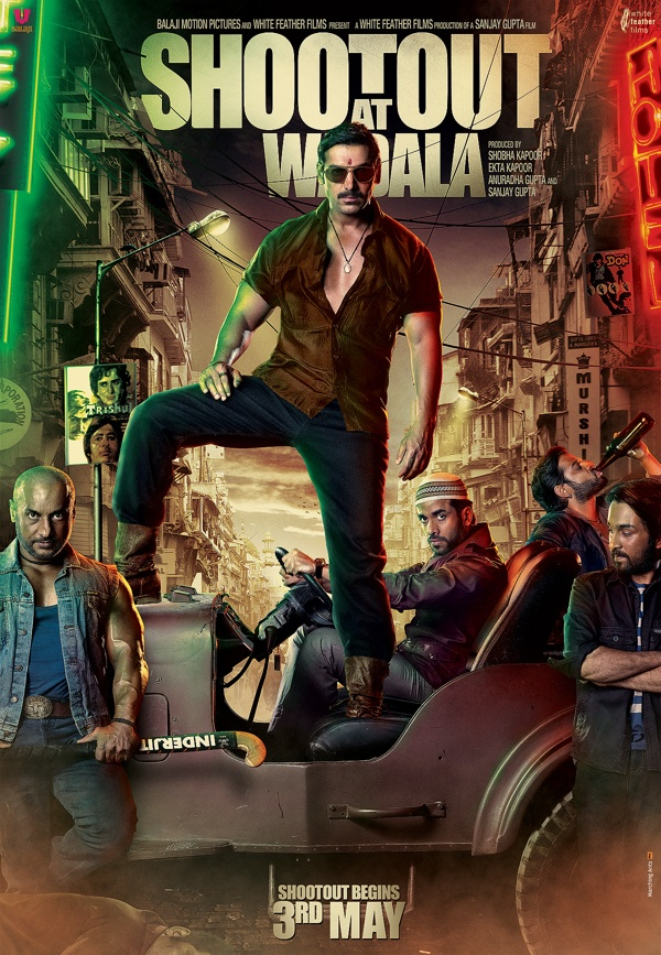 poster for SHOOT OUT AT WADALA on Behance