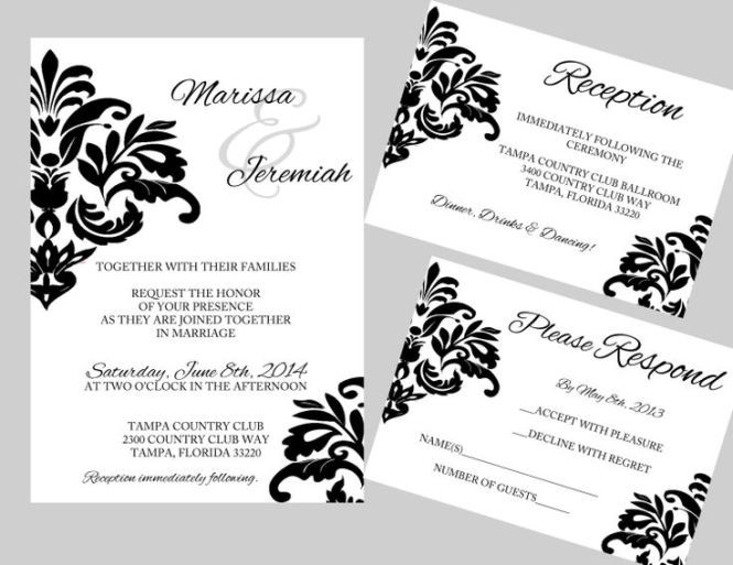 Expensive Wedding Invitation For You Free Spanish