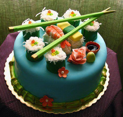 Gorgeous Sushi Cake