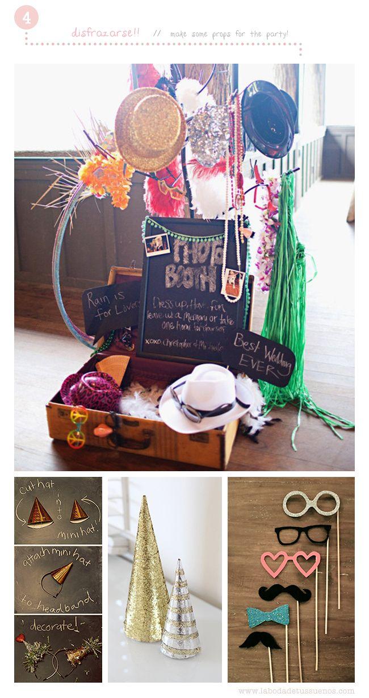5 Funny Ideas for a New Year Eve Party at home // Drops    5 Divertidas ideas para una Fiesta de Nochevieja en casa // Complementos y Disfraces