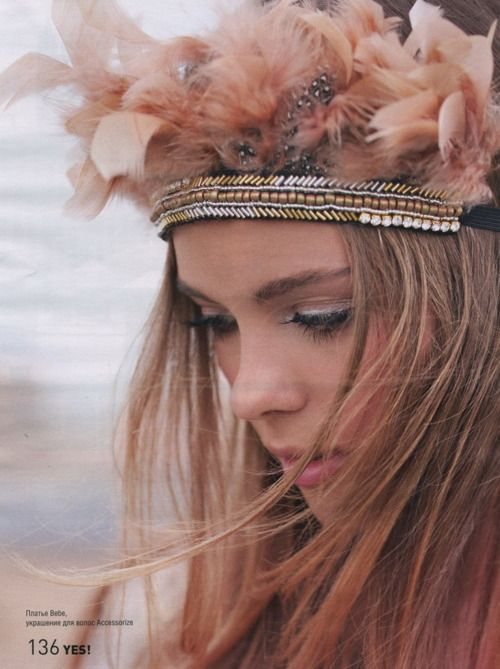 Want to make this Head dress for my little girl