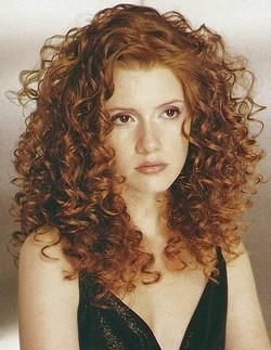 cut color white girl naturally curly hair pinterest