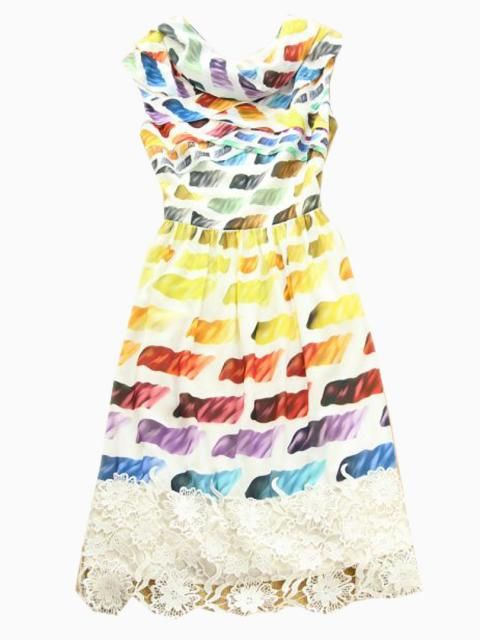 Choies Limited Edition Soft Rainbow A-line Dress | Choies