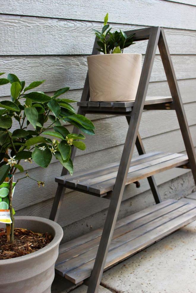 Diy a frame plant stand home stuff pinterest
