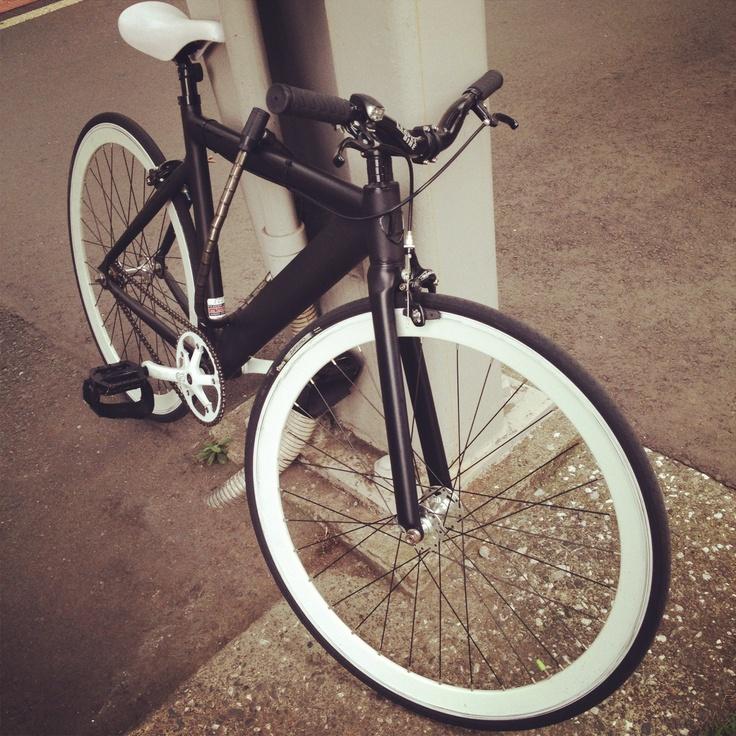Trendy bike in omotesando tokyo