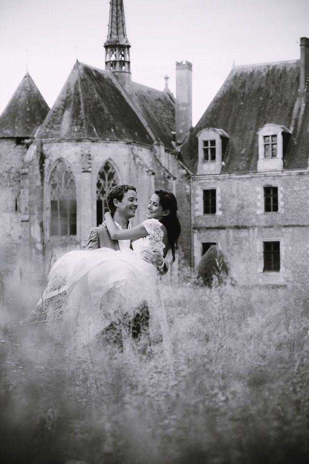 A Colourful, Boho Wedding in France: Hearts, Ducks