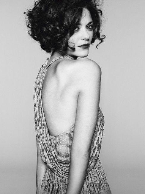 Marion Cotillard short curly hair