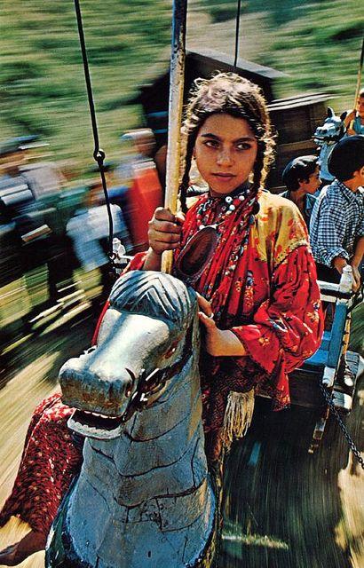 Gypsi girl, wanderer of the world