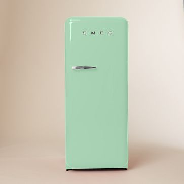 SMEG Refrigerator - Pastel Green #WestElm