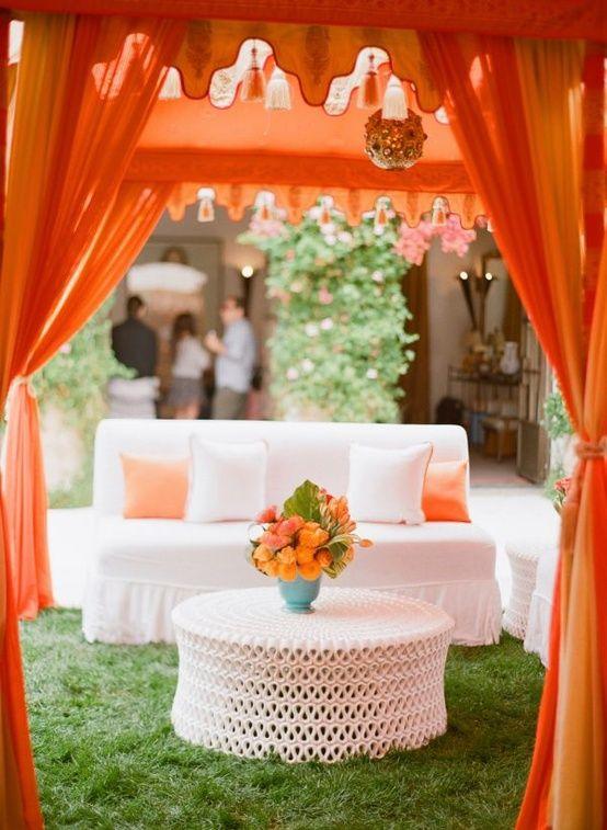 orange theme event