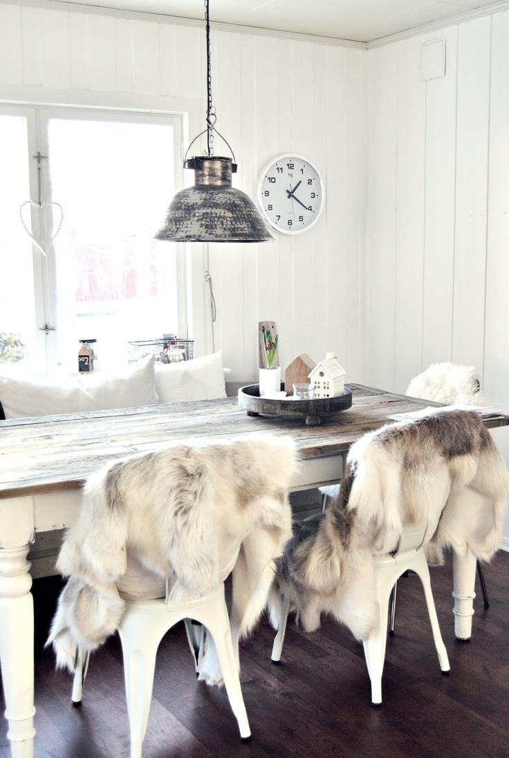 Cozy in White