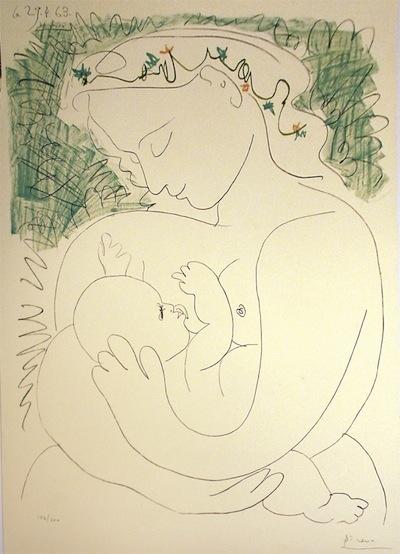 Maternite, 1963 Pablo Picasso