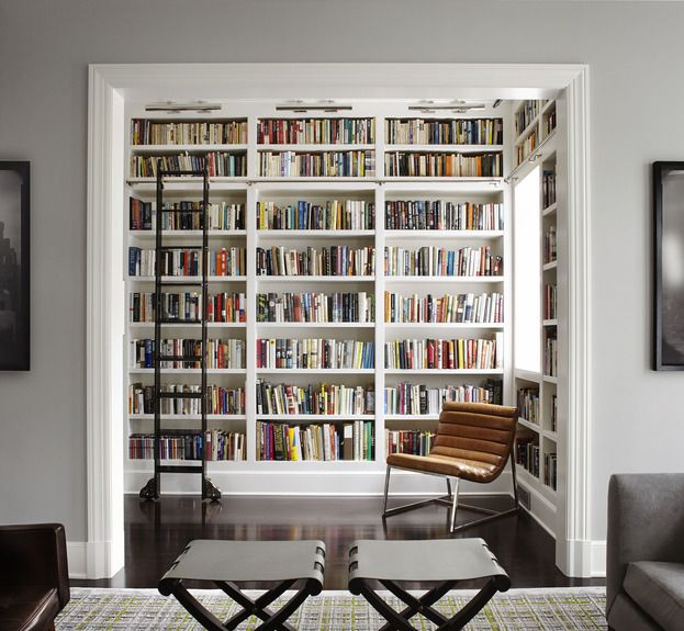 Library off the living room. LOVE beyond LOVE.
