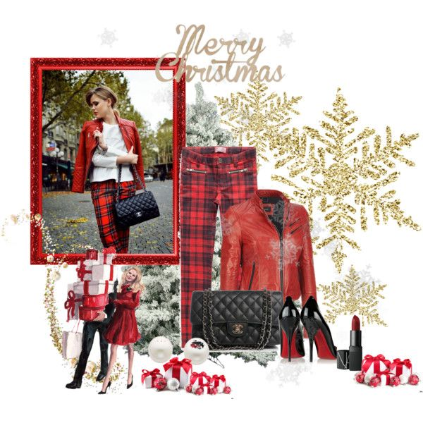 """Casual Christmas"" by sassiegirl on Polyvore"