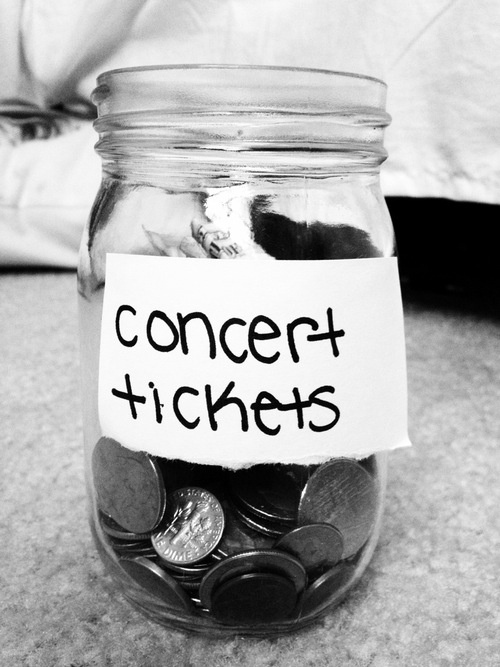 Jar for concert tickets....THE.RIOT.IS.HERE Pop/Rock Recording Artist Tweet me @Jacqriot https://www.facebook.com/jacqriotofficial