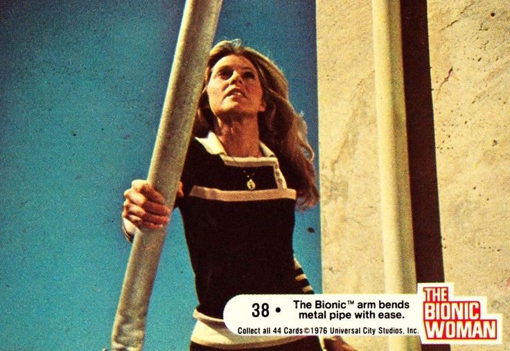 Image result for bionic woman