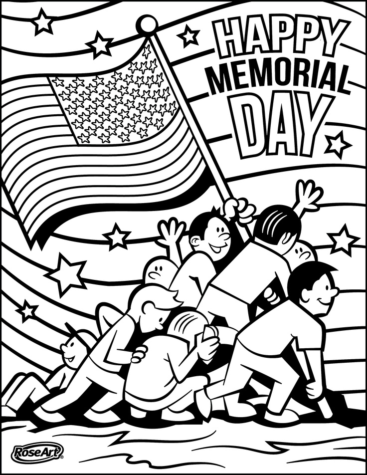 memorial day coloring pages mupicolor