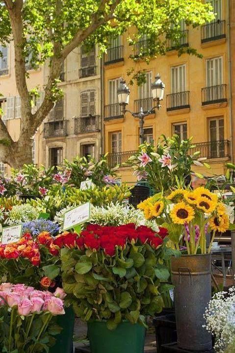 Flower Market, Aix-en-Provence