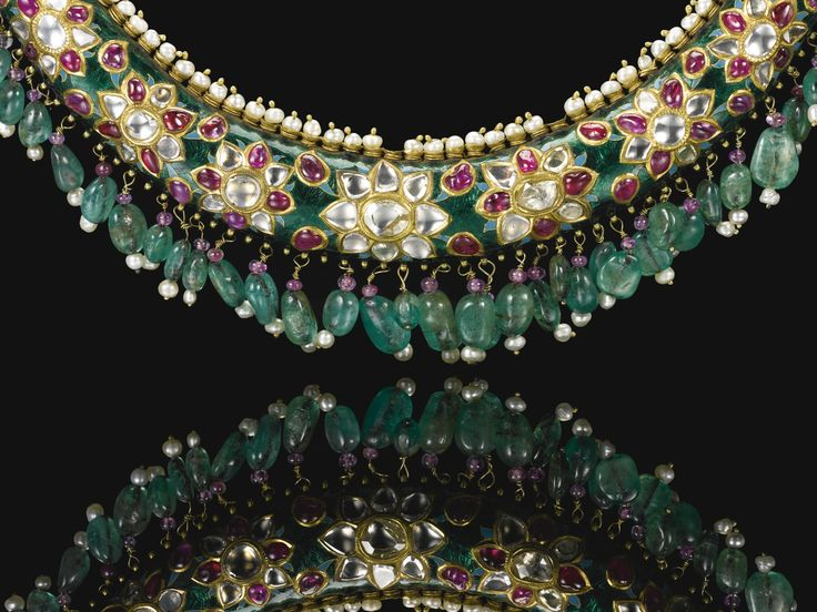 An outstanding Maharani torque necklace (hasli),Bikaner, Rajasthan, late 19th century | Lot | Sotheby's